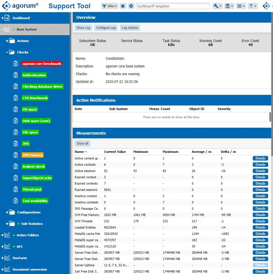 Was tun wenn die Festplatte voll ist? Monitoring