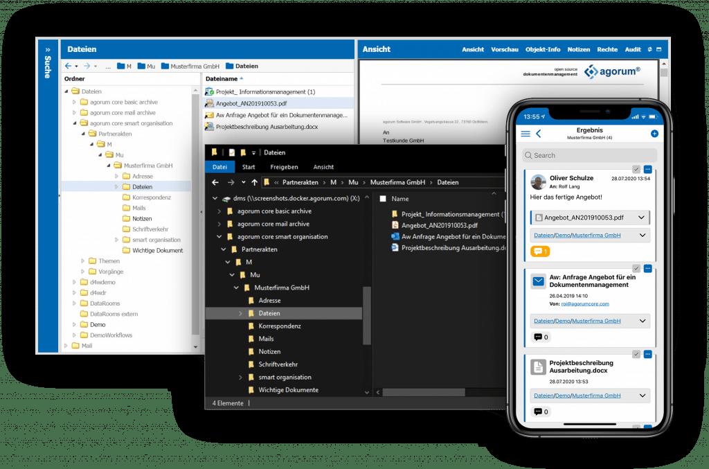 Open Source Dokumentenmanagement - Alle Daten und Informationen zentral verfügbar
