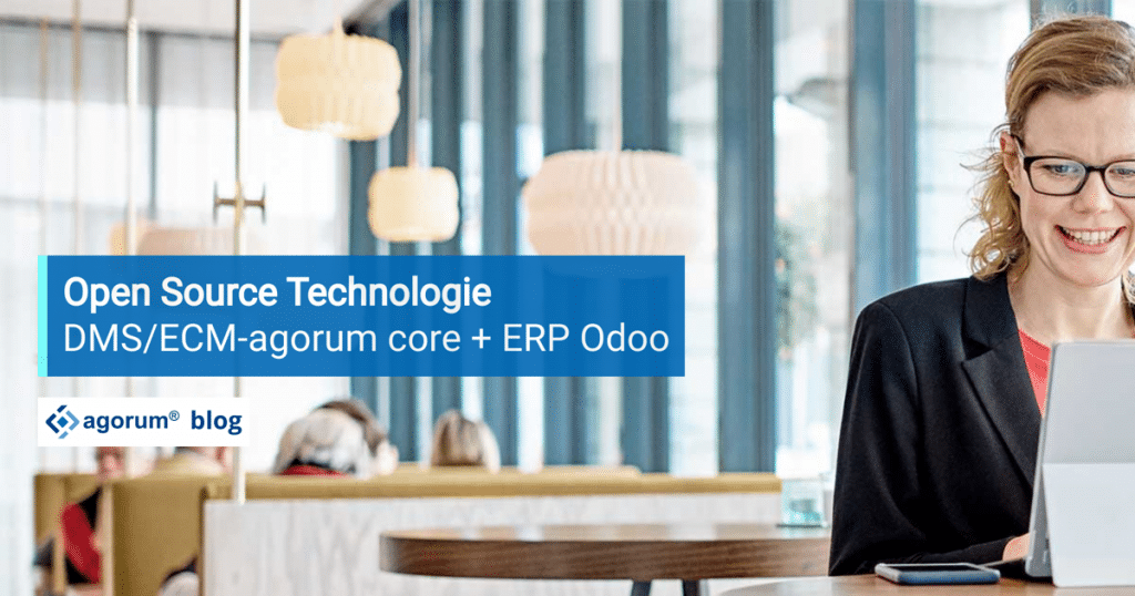 agorum core odoo Open Source Technologie