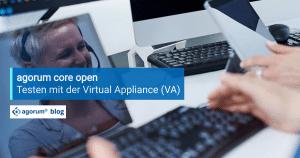 agorum core open testen mit der Virtual Appliance