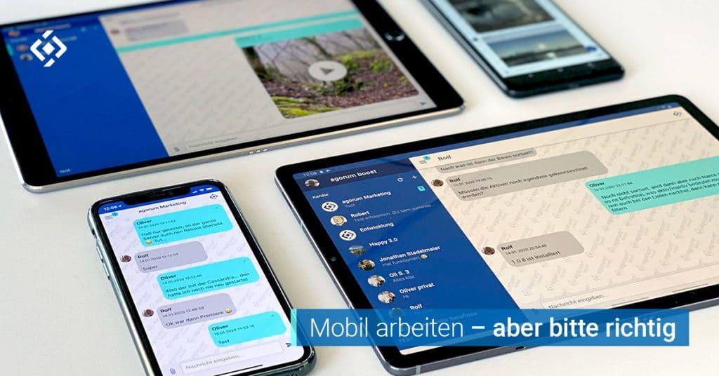 agorum boost mobil arbeiten Mobile Arbeit New Work