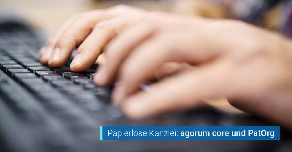 Software zur Patentverwaltung agorum PatOrg