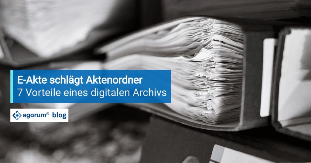 Digitales Archiv mit dem DMS agorum core