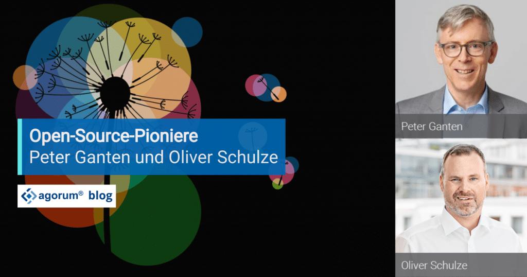 Open Source Pioniere Peter Ganten und Oliver Schulze