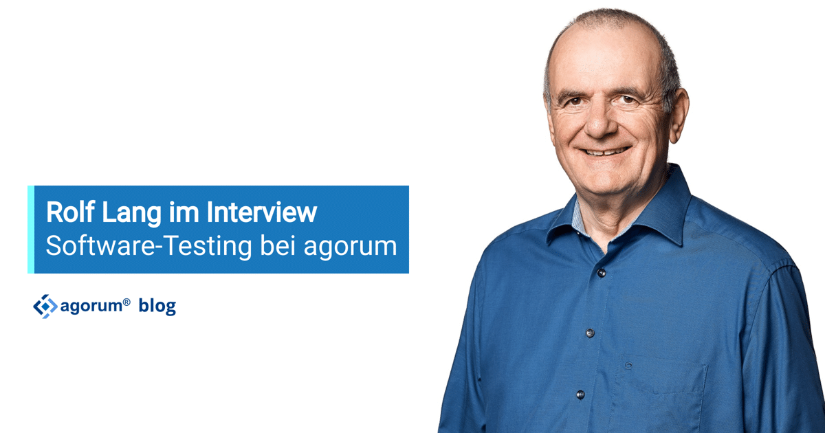 Rolf Lang im Interview zum Thema Software-Testing