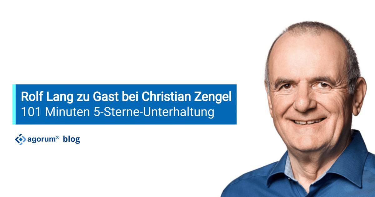 Rolf Lang zu Gast bei Christian Zengel
