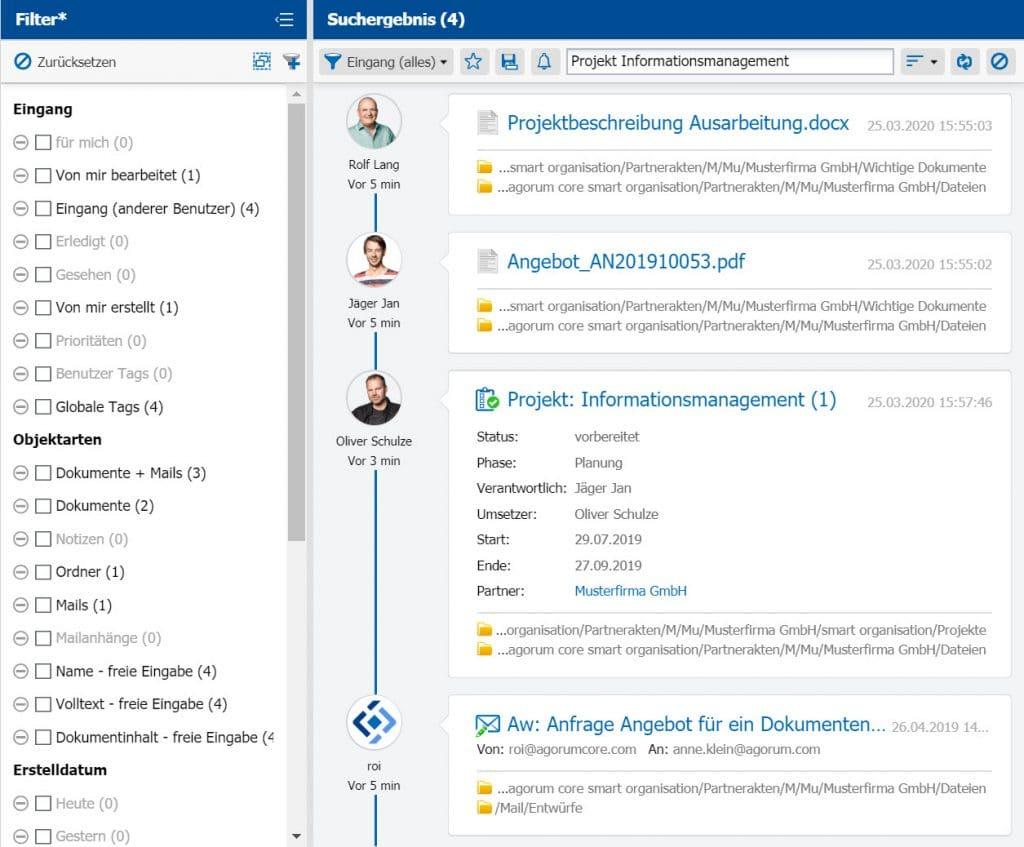 Open Source Dokumentenmanagement - Volltextsuche für Dokumente, Mails, alle Informationen