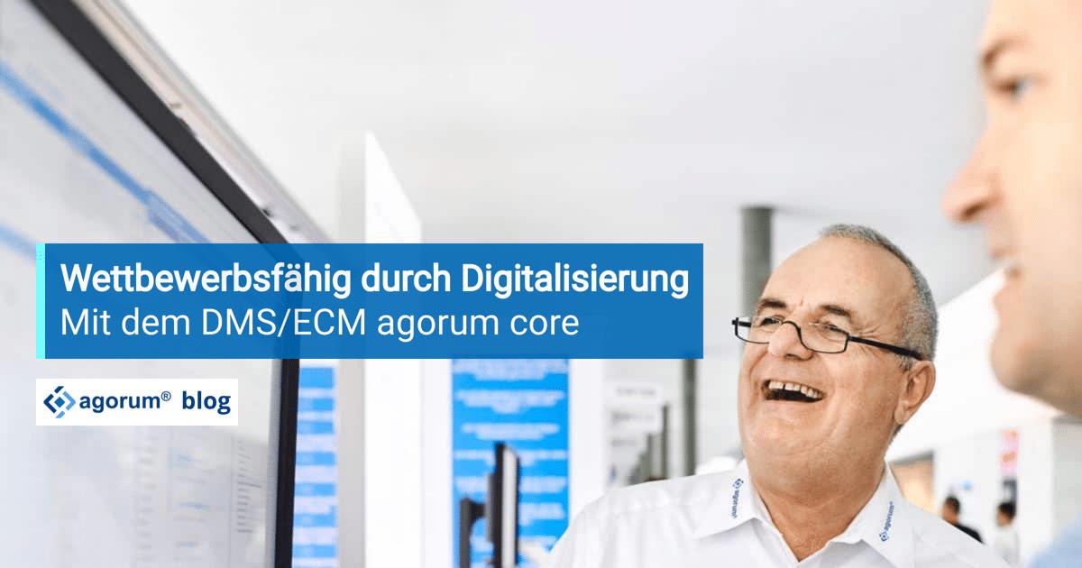Wettbewerbsfähig dank Digitalisierung