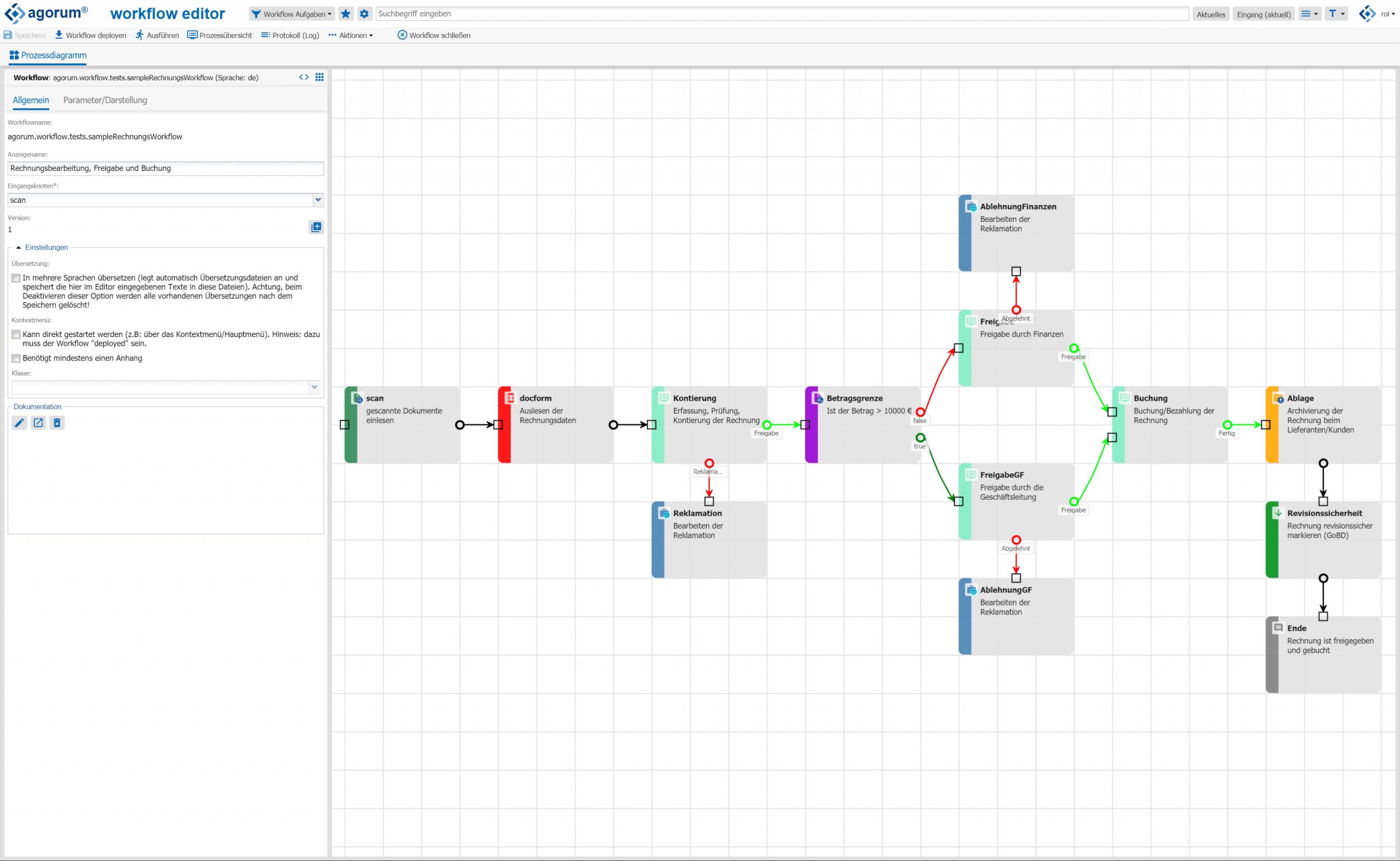 Open Source Dokumentenmanagement - Geschäftsprozesse automatisieren mit agorum core workflow
